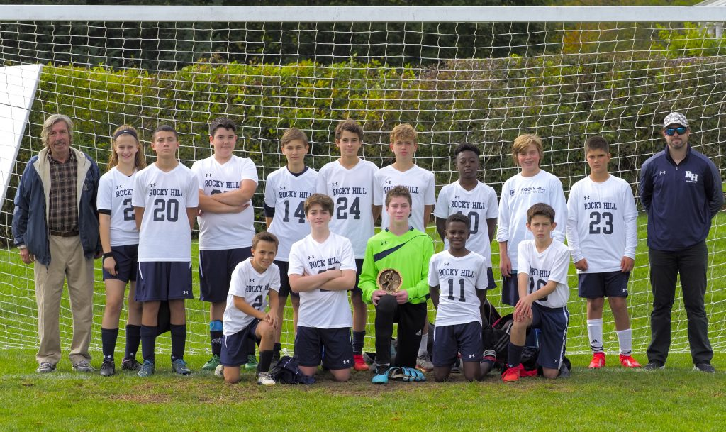 RHCD Middle School Soccer Team took Third Place at this year's Land of Fires Tournament